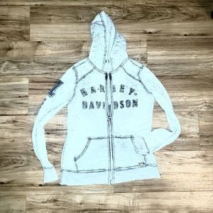 Harley-Davidson | Signature Eagle Zip Up Hoodie